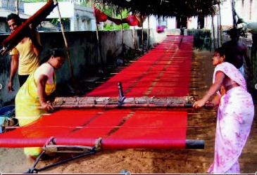 Weaving and Dyeing - AID Kapda Calendar